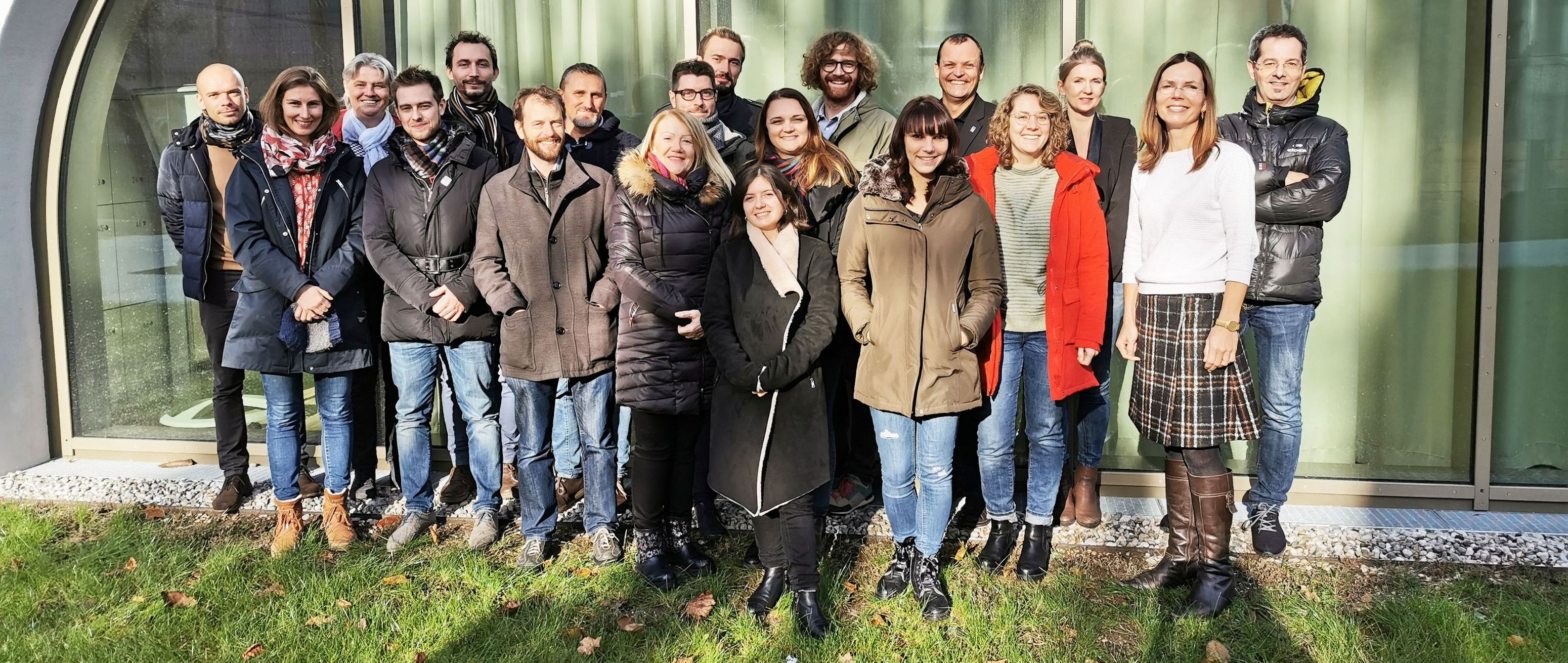 HEALPS 2 kick off group foto