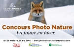 "The Contamines Montjoie organizes its 1st photo contest ""Photo Nature"" focusing on winter wildlife"