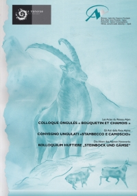 Proceeding n°3: Conference on Ungulates: ibex and chamois