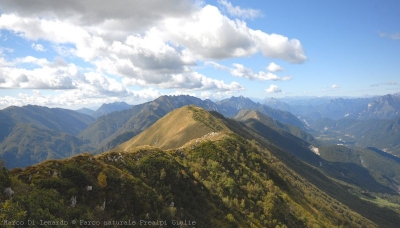 "Among ""stavoli"", ""casere"" and paths: the natural regional Park of the Prealpi Giulie!"